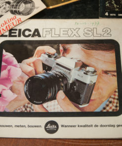 Leica Magazines and Folders Leicaflex SL2 manual