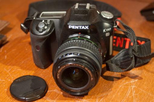Pentax K110D + 18-55mm
