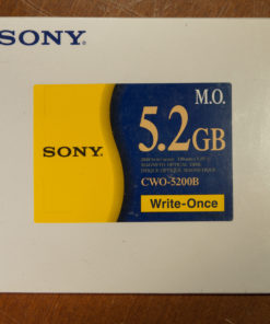 "Sony 5,25"" MO Disk 5.2 GB, Data Cartridge"