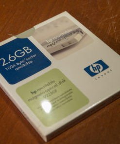 "HP 5,25"" MO Disk 2.6 GB, Data Cartridge"