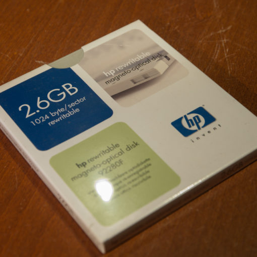 "HP 5,25"" MO Disk 2.6 GB, Data Cartridge"