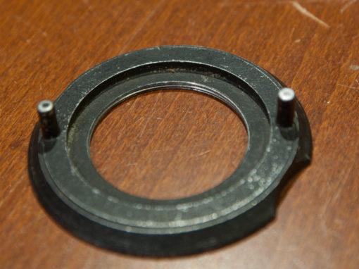M42 lens mounting plate for enlarger