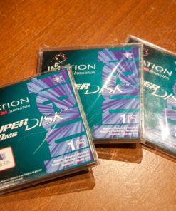 "Imation 3M Superdisk 120MB floppy disks 3,5"""