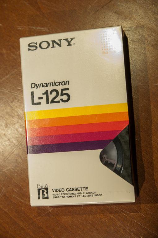 Sony Dynamicron BETAMAX L-125
