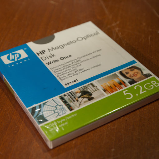 "HP 88146J, 5,25"" MO Disk Worm, 5,2 GB, Data Cartridge"