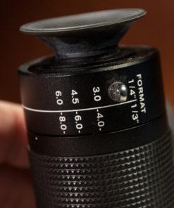 Focal length finder for CCTV Lenses