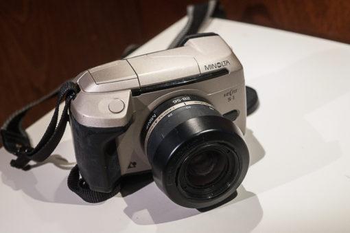 Minolta Vectis S1 + 28-56mm (APS)