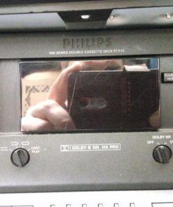 Philips FC930 Analog Double Auto-Reverse Cassette Deck