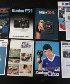 Folders Konica Cameras