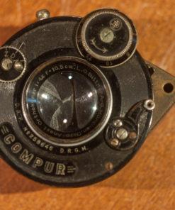 LO Bittner A.G. Munchen Doppel anastigmat OrthokLinar F4.8 10.5cm in compur shutter
