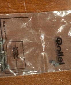 Rollei parts in Rollei Plastic ziplock bag