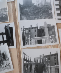 WW2 photos of destroyed houses