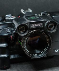 RevueFlex Ac-2 + Revuenon Autofocus 50mm F1.7 + revuedate + Revuemotor 135