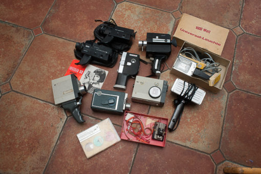 Collection of 8mm Cameras from the sixties/seventies