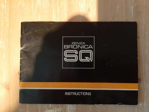Manual Bronica SQ
