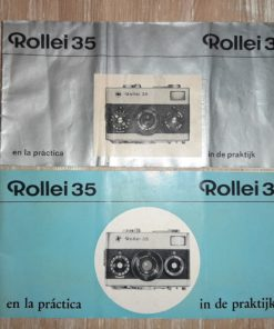 2x Rollei 35 Manual (french/dutch)