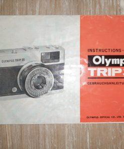 Manual Olympus trip 35