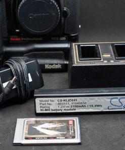 Canon EOS 1n Kodak DCS520