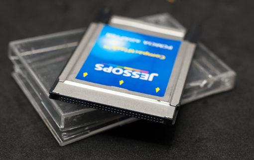 PCMCIA CARD flash memory