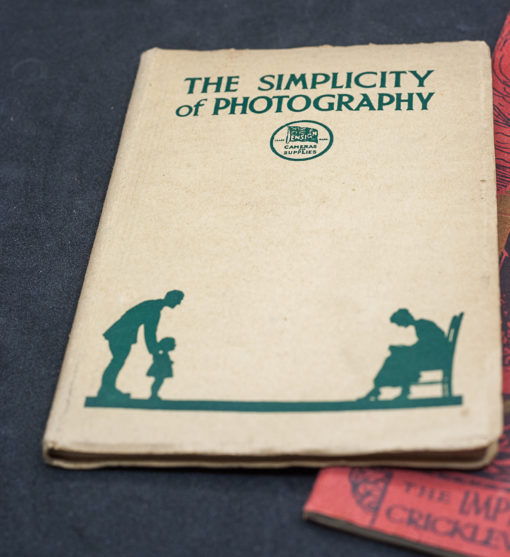 The simplicity of Photography + Imperial Handbook 1919