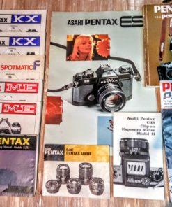 PEntax Folders and Manuals
