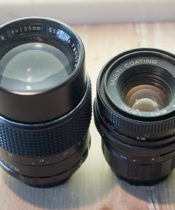 Pentacon 50mm F1.8 // Pallas 135mm F2.8 / 2x converter M42