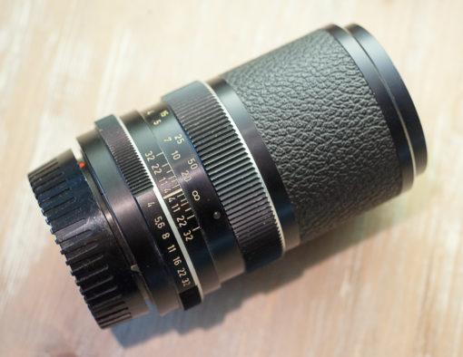 Voigtlander color Dynarex 135mm F4.0