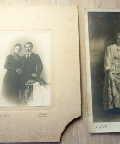 5 old kabinet photos1880-1910?