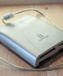 "Iomega Floppy Plus 3,5"" floppy Drive CF/MS/SD card reader USB"