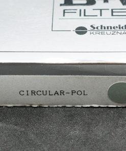 B&W 77mm circular polarizing filter
