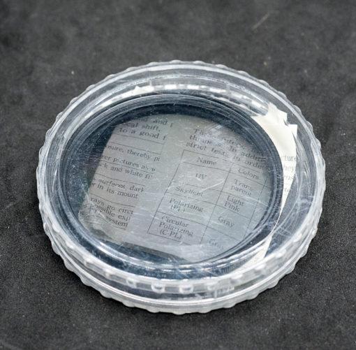 Bower 72mm P.L polarizing filter