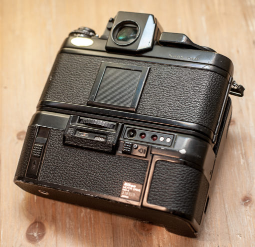 Nikon F3 + MD-4