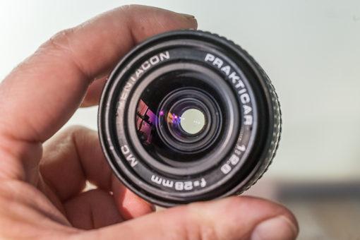 Prakticar Pentacon 28mm F2.8